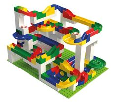 Hubelino marble run for kids, made in Germany, discover now! With productinfos & pictures & where to buy + CONTACT to the toy-manufacturer Lego Duplo, Lego Toys, Creative Toys For Kids, Diy For Kids, Lego App, Dreamland, Lego Challenge, Lego Builder, Lego Craft