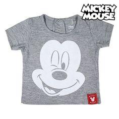 Brand Name: Mickey mouse L'articolo Maglia a Maniche Corte per Bambini Mickey Mouse Grigio proviene da SHOP TOP Colosseo.Store. Baby Mouse, Brand Names, Mickey Mouse, T Shirts For Women, Tops, Fashion, Moda, Michey Mouse, Fasion