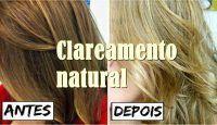 Como clarear os cabelos naturalmente usando leite