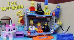 A Simpsons Couch Gag Done LEGO Movie-Style [Stop-Motion Video]