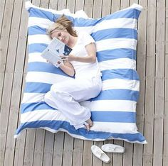 Giant Pillow - Cover is removable and washable.