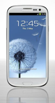 Galaxy S III...coming to me as soon as i catch up!!! I miss my smart phone...