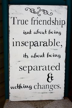 True friendship sign-Personalized Wooden Sign by MamaSaysSigns