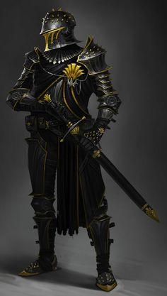 Fantasy Concept Art, Fantasy Armor, Fantasy Character Design, Dark Fantasy Art, Character Design Inspiration, Character Art, Dungeons And Dragons Characters, Dnd Characters, Fantasy Characters