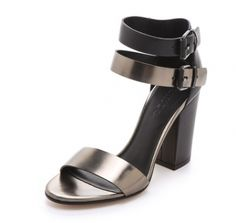 Metallic Sandals   theglitterguide.com