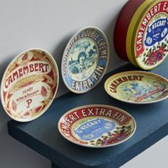 Camembert Canapé Plates