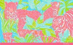 Lily pulitzer wallpaper