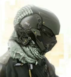 Predator helmet. I need one of these; never know when (s#!@) might get real