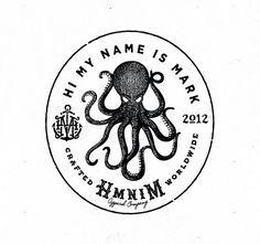 Hi My Name is Mark | Octopus Logo of the Month on Logoholic Blog