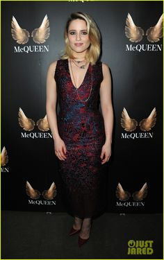 Dianna Agron Officially Makes West End Debut in 'McQueen'