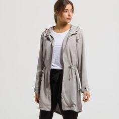 ARMEDANGELS   Madlen Parka Solid - light grey