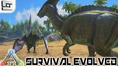 ARK: Survival Evolved - DINOSAURS! E1 ( Gameplay )