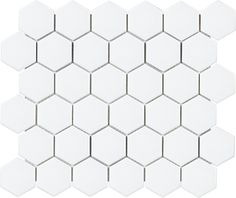 Shop for Hex Matte White Porcelain Mosaic Tile - 2 x 2 in. at The Tile Shop. Marble Mosaic, Stone Mosaic, Mosaic Tiles, Hex Tile, Ceramic Wall Tiles, Porcelain Tile, White Porcelain, Soho, The Tile Shop