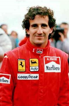 Alain Prost was born on February 24, 1955, near Saint Chamond in the Loire region of central France