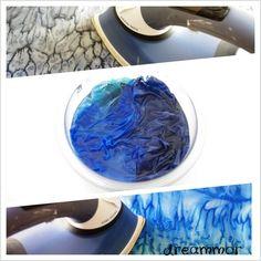Pintar pañuelo de seda con sal...Tutorial