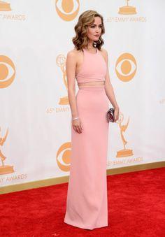 Rose Byrne vestindo Calvin Klein Collection, Emmy Awards 2013