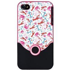 iPhone 4/4S S Tyler Hot Pink Slider Case