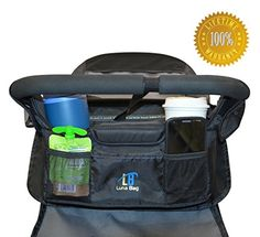 The Luna Bag - Universal Stroller Organizer of the Highest Quality - Lifetime Guarantee Luna http://www.amazon.com/dp/B00KFQKMV6/ref=cm_sw_r_pi_dp_eekyvb04RQMNE
