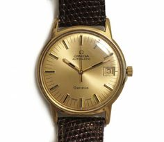 A classic vintage watch, the men's Omega Geneve Automatic Date Circa 1970s is the perfect Christmas present for men of all ages
