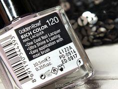 Jesień 2014 nowe odcienie lakierów Golden Rose Rich Color.