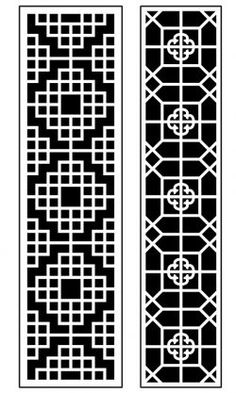 Dercor panel 62 – Download Free Vector Stair Railing Kits, Art File, Vector File, Free Design, Pattern, Patterns, Model, Swatch
