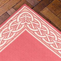 Tapis Jacquard, Casa Lopez, modèle Arceaux, réversible, sur mesure, personnalisation des couleurs, casalopez.com