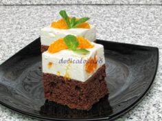 Prajituri cu Mandarine Romanian Food, Romanian Recipes, Russian Desserts, Cute Food, Delish, Cheesecake, Pudding, Favorite Recipes, Sweets