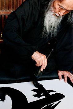 Kazuaki Tanahashi - shodo - Japanese Calligrapher