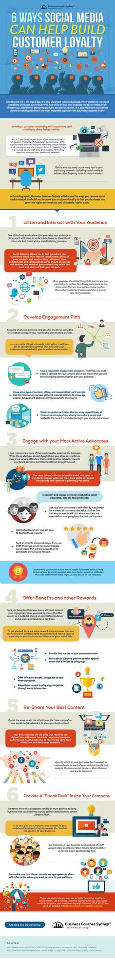 6 Ways Social Media Can Help Build Customer Loyalty [Infographic] | Social Media Today