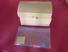 Decorate treasure chests for an activity