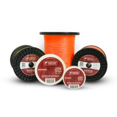 Scientific Anglers Dacron Fly line Backing, Orange