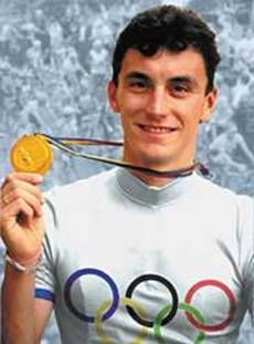 Fabio Casartelli (1970 - 1995) Italian bicycle racer,he won a gold medal in the 1992 Summer Olympics road race. died during the 1995 Tour de France after crashing and hitting his head