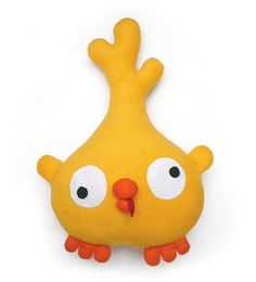Sewing pattern Poloko chick stuffed animal toy PDF por DIYFluffies