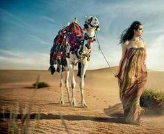 Model l Zayneb 1 by ? on Morocco Fashion, Egypt Fashion, Arab Fashion, Desert Photography, Creative Photography, Portrait Photography, Arabian Beauty, Desert Fashion, Beauty Around The World