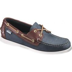 Spinnaker Boat Shoes in Blue/Brown by Sebago
