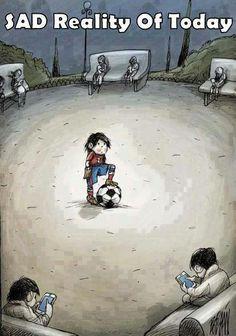 Sad reality of today