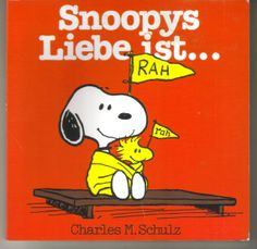 Vintage Snoopy Peanuts Book German Edition by ShopHereVintage, $15.00