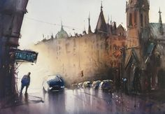 Stefan Gadnell present his watercolors and arts. My Arts, Watercolor, Painting, Pen And Wash, Watercolor Painting, Painting Art, Watercolour, Paintings, Painted Canvas