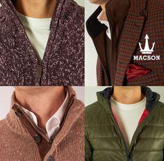 Visita la nueva colección Otoño/Invierno de MACSON en: www.macson.es Entra y consigue todo lo que necesitas para la estación fría con el sello de calidad y elegancia MACSON.