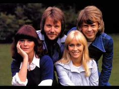 """ABBA"", was a Swedish pop group formed in Stockholm in 1970 which consisted of Anni-Frid Lyngstad, Björn Ulvaeus, Benny Andersson and Agnetha Fältskog. topping the charts worldwide from 1972 to One of my favorites is ""Dancing Queen"", ""Chiquitita"" Abba Names, Good Music, My Music, Names Of Games, Summer Youtube, Musica Pop, We Will Rock You, Pop Rock, Teenage Years"