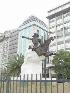 El Quijote en Buenos Aires.