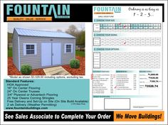 Trying to find superior quality, affordable storage sheds? Anderson SC's top builder is Fountain Buildings. With a dedication to high quality service, Fountain offers quality, variety, economic advantages, durability, and solid construction.
