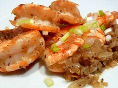Recette Plat : Crevettes sautées au sel & poivre par Leyin