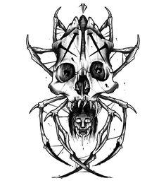 Skull Tattoos, Mini Tattoos, Cute Tattoos, Black Tattoos, Tatouage Fibonacci, Fibonacci Tattoo, Tattoo Sketches, Tattoo Drawings, Blackwork