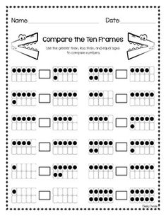 Check out the full Pack here: Greater Than Less Than - Pack QR Code - Greater Than, Less Than and Equal to You might also like: BUNDLE - Math Strategies Second Grade Freebies, 1st Grade Math, Grade 1, Math Strategies, Math Resources, Math Worksheets, Math Games, Math Activities, Kindergarten Freebies