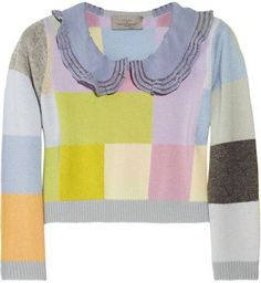 7. Preen Cropped Cashmere Sweater