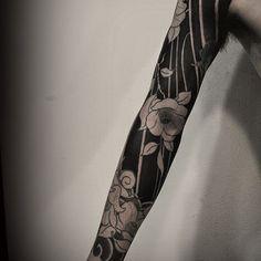Tattoos.com | ARTIST SPOTLIGHT: The Incredible, Black Line tattoos of GAKKIN | Page 3