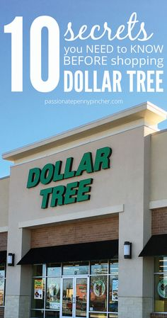 10 Secrets You Need to Know Before Shopping Dollar Tree. Passionate Penny Pincher is the source printable & online coupons! Get your promo codes or coupons & save. Dollar Tree Finds, Dollar Tree Crafts, Dollar Tree Haul, Frugal Living Tips, Frugal Tips, Dollar Store Hacks, Dollar Stores, Thrift Stores, Ways To Save Money