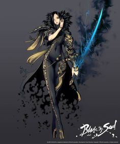Blade and Soul Character Designs by Hyung-tae Kim Fantasy Character Design, Character Design Inspiration, Character Concept, Character Art, Concept Art, Fantasy Girl, Fantasy Warrior, Anime Fantasy, Fantasy Characters