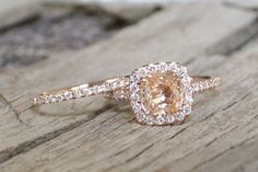 rose gold wedding rings - Google Search
